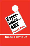 Experience as Art