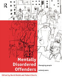 Pdf Mentally Disordered Offenders