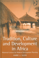 Tradition  Culture and Development in Africa
