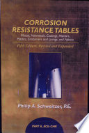 Corrosion Resistance Tables: ACE-CHR