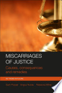 Miscarriages of justice Book