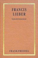 Francis Lieber