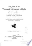 The Book of the Thousand Nights and a Night Book PDF