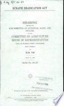 Scrapie Eradication Act
