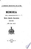 Memoria Del Presidente Book PDF