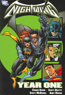 Nightwing banner backdrop