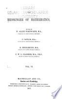 The Messenger of Mathematics ...