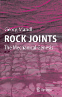 Pdf Rock Joints