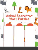 Animal Search a Word Puzzles  Dover Little Activity Books