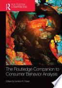 The Routledge Companion To Consumer Behavior Analysis Book PDF