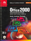 MS Office 2000 Advanced Concepts and Techniques