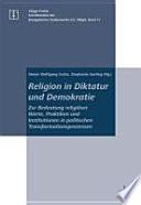 Religion in Diktatur und Demokratie