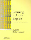 Learning to Learn English Learner's Book