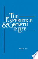 The Experience and Growth in Life