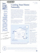 Cooling Your Home Naturally