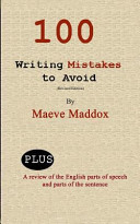 100 Writing Mistakes to Avoid