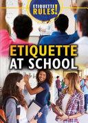 Etiquette at School