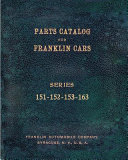 Part Catalog for Franklin Cars