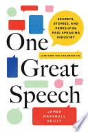 One Great Speech