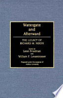 Watergate and Afterward