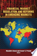Financial Market Regulation And Reforms In Emerging Markets Book PDF