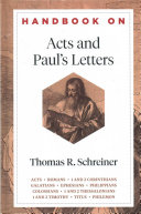 Handbook On Acts And Paul S Letters