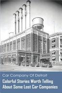 Car Company Of Detroit