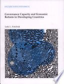 Governance Capacity and Economic Reform in Developing Countries