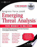 Syngress Force Emerging Threat Analysis Book