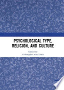 Psychological Type Religion And Culture