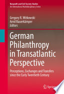 German Philanthropy in Transatlantic Perspective