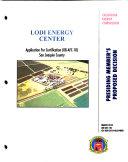 Presiding Member's Proposed Decision, Lodi Energy Center