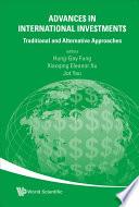 Advance  in International Inve tment