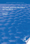 The Crisis Of Poverty And Debt In The Third World Book