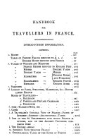 Hand book for travellers in France  by J  Murray  1st  3rd 14th  16th  18th ed