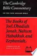 The Books of Joel, Obadiah, Jonah, Nahum, Habakkuk and Zephaniah