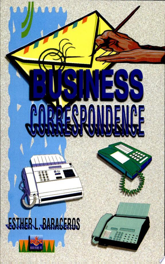 Business Correspondence'2000 Ed.
