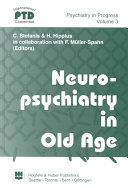 Neuropsychiatry in Old Age Book