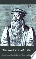 The Works of John Knox Book