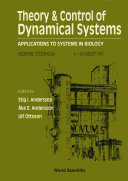 Theory And Control Of Dynamical Systems  Applications To Systems In Biology