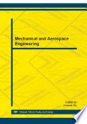 Mechanical and Aerospace Engineering  ICMAE2012