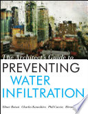 The Architect s Guide to Preventing Water Infiltration