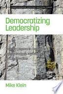 Democratizing Leadership