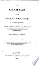 A Grammar Of The English Language In A Series Of Letters [Pdf/ePub] eBook