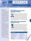 Imf Research Bulletin December 2002 Epub