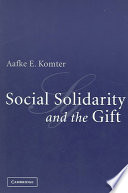 Social Solidarity and the Gift