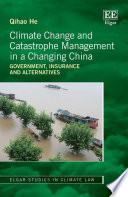 Climate Change and Catastrophe Management in a Changing China