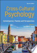 Cross Cultural Psychology Book PDF