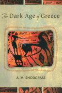 The Dark Age of Greece Pdf/ePub eBook