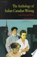 The Anthology of Italian-Canadian Writing